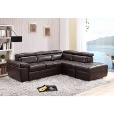 Leather Corner Sofa Beds by Corner Sofas Wayfair Co Uk