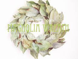 makey thursday a magnolia wreath of charmings