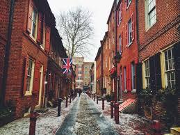 Elfreth S Alley by Philadelphia A Snowy Stroll Through Elfreth U0027s Alley U2013 La Vida Laura