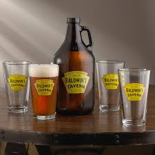 kitchen u0026 dining marvellous personalized growler set with