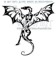 40 best cool images on pinterest tribal dragon tattoos dragon