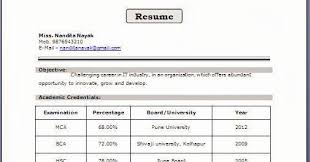 bca resume format for freshers pdf to word mca fresher resume format new resume format for mca