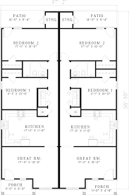 tarsney luxury brick duplex plan 055d 0386 house plans and more