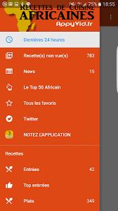 application recettes de cuisine recettes de cuisine africaine android télécharger recettes de