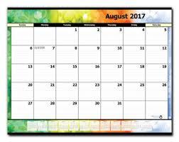 desk pad calendar 2017 17 month desk pad calendar refill august 2017 december 2018