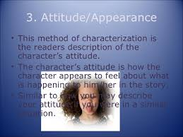the 8 methods of characterization powerpoint