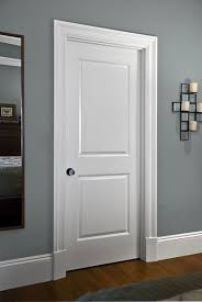 use base moulding on casing to transition from base board to door