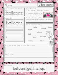 free valentine u0027s day multisensory handwriting activity your