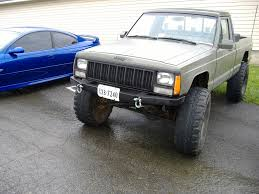 1988 lifted jeep comanche another trailreadyxj 1989 jeep comanche regular cab post 1873258