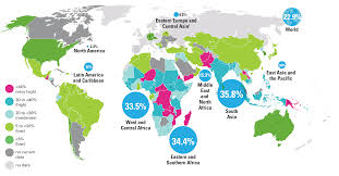 map all malnutrition unicef data