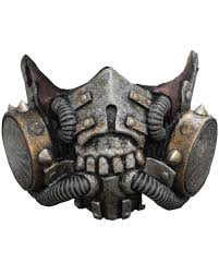Halloween Gas Mask Costume Doomsday Latex Gasmask Costumes Horror Shop