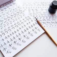 printable calligraphy worksheets worksheets