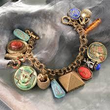 charm bracelet jewelry images King tut 39 s ancient egyptian charm bracelet pharaoh bracelet jpg
