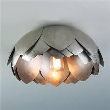 large flush mount ceiling light vintage magnolia blossom ceiling light large flush mount ceiling