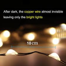solar power led lights 100 bulb string solar power string light waterproof led light 10m 100 led copper