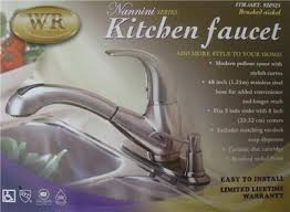 wr kitchen faucet waterridge wr nannini modern kitchen faucet