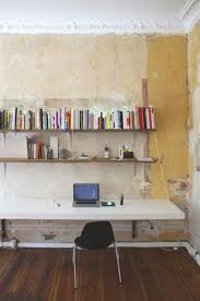 murphy style wall mounted desk