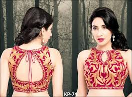 blouse designs blouse back neck designs top 54 trendy designs