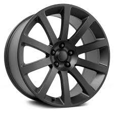 topline replicas 2005 chrysler 300 srt 8 wheels matte black rims