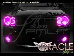 Halos Around Lights Oracle 08 10 Jeep Cherokee Srt8 Led Dual Color Halo Rings Head
