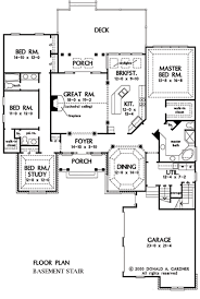 traditional style house plan 4 beds 2 50 baths 2544 sq ft plan