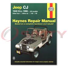 jeep cj5 haynes repair manual golden eagle renegade laredo base