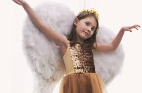 White Angel Halloween Costume Diy Halloween Costumes Kids Tutorial Angel Wings