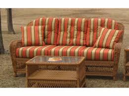 Wicker Loveseat Replacement Cushions Wicker Furniture U0026 Lloyd Flanders Replacement Cushions For Sale
