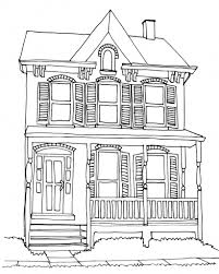 easy drawing of a house how to draw a house easy drawing step step