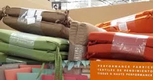 Sunbrella Outdoor Cushions Costco Peak Season Sunbrella Outdoor Seat Pads 2 Pack Costco Weekender