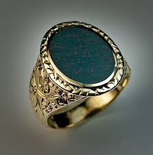 antique rings vintage images Victorian era antique bloodstone gold signet ring antique jpg