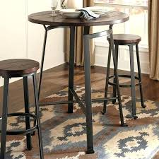 Rustic Bistro Table And Chairs Industrial Bistro Table Commercial High Top Bar Tables Bar Table