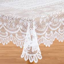white lace table cloth white lace tablecloth walter