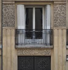 art deco balcony france french art deco architecture of the 17th arrondissement in