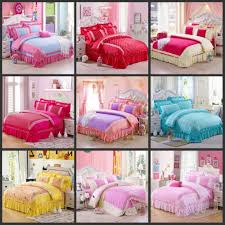girls pink bedding sets size picture more detailed picture about princess duvet