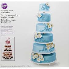 tiered cake stands towering tiers cake stand wilton