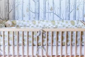 Modern Crib Bedding Mid Century Modern Crib With Gold And Gray Crib Bedding