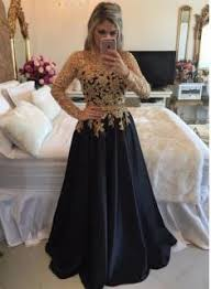 black and gold dress product search gold sleeve prom dresses buy high quality