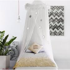 Mosquito Netting Curtains Boho U0026 Beach Bed Canopy Mosquito Net Curtains With Feathers And