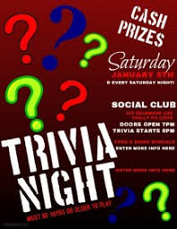 customizable design templates for trivia game night postermywall