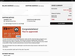 Business Credit Card Instant Approval Dsw Visa Approved And Sportsman Guide Visa Sct App Myfico