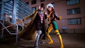 Men Rogue Halloween Costume Cosplay Construction Compilation Rogue U0026 Gambit Men