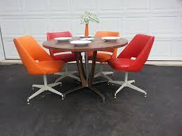 mid century dinette set cool chromcraft dining room furniture