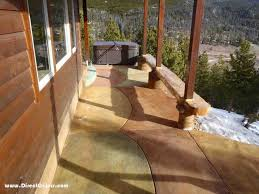 Stain Old Concrete Patio by Cola Acid Stain Project Photo Gallery Direct Colors Inc