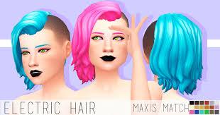 sims 4 maxis match cc hair maxis match cc for the sims 4 photo