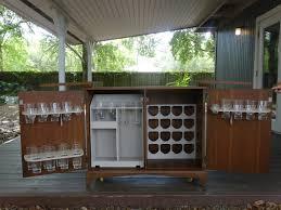 Retro Bar Cabinet Cool Retro Mid Century Modern Art Deco Bar Liquor Cabinet Buffet W