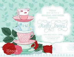 afternoon tea party invitation template free printable