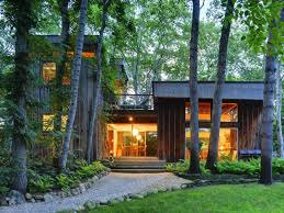 wooden wall mid century modern homes that can be combined with