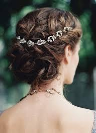 rhinestone hair 35 stunning bridal hair vine ideas happywedd