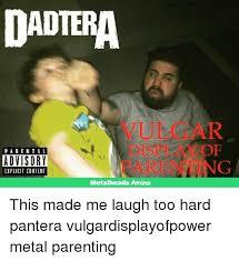 Explicit Memes - dadtera parental advisory explicit content metalheads amino this